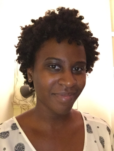 My first twist-out in August 2017. My mom helped me out!