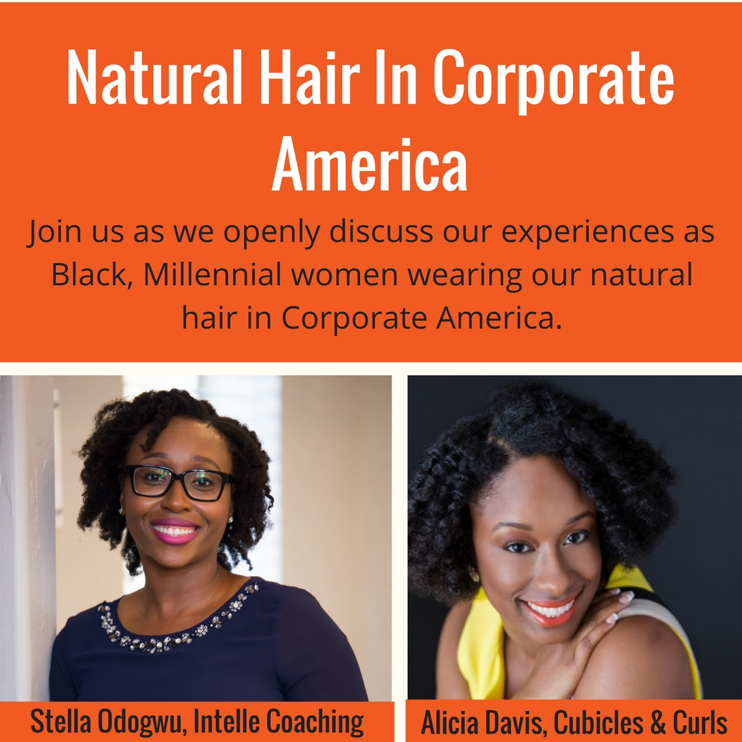 Intelle Coaching: Natural Hair in Corporate America - To wrap up Intelle's series on Authenticity & Intention, Stella & I had a candid conversation on rocking natural hair in Corporate America. We talked about everything from our personal hair journeys, responses we've received in the workplace & our best tips on how to navigate if you are having a similar experiences. Technical glitches aside, I hope you find our exchange insightful and empowering!