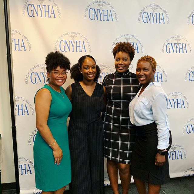 I had the honor of helping to organize and moderating the @nyrnahse Young Professional Empowerment Forum last night at the GNYHA office. Speaking last night to a healthcare CEO, VPs, and Directors on their career experiences and receiving advice as a rising professionals was invaluable. My biggest takeaways from the panel was to be clear on your vision for yourself and for your organization, to aspire to servant leadership rather than just being in charge, and to strive for being good at your role and doing good work first and foremost instead of solely focusing on what you wish you were doing or the role you wish you had. #cubiclesandcurls