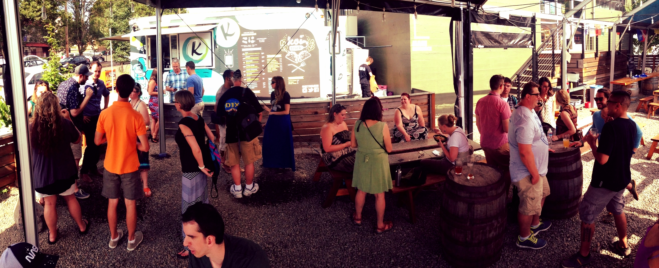 """""""Gathering of Creatives Who Live to Travel"""" Meetup at Base Camp Brewing Co."""
