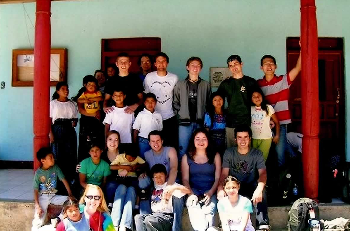 Our EWB Project Crew at Santa Maria de Guadalupe Orphanage (Santa Apolonia, Chimaltenango,Guatemala 2007)