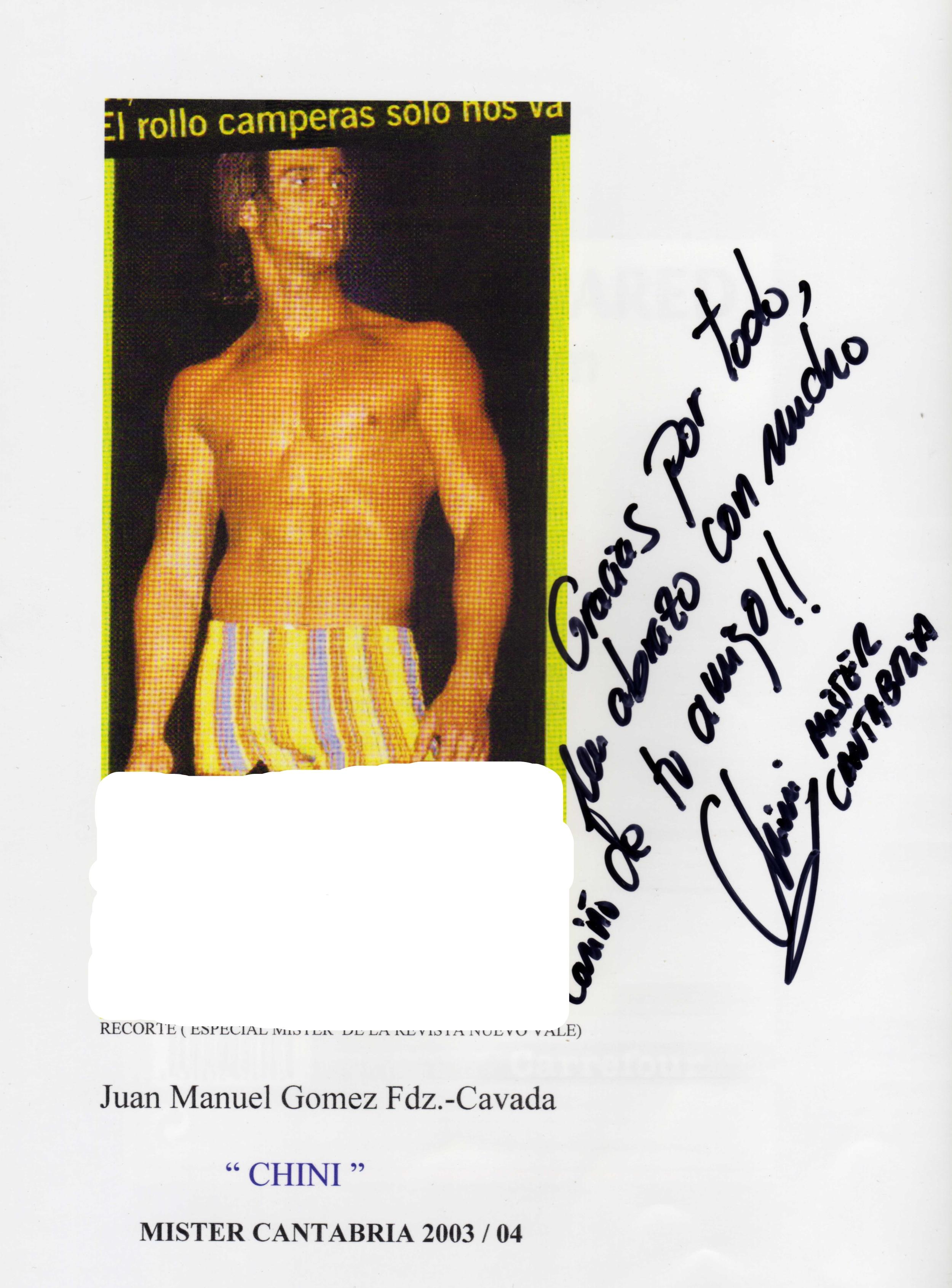 CHINI GOMEZ MR CANTABRIA