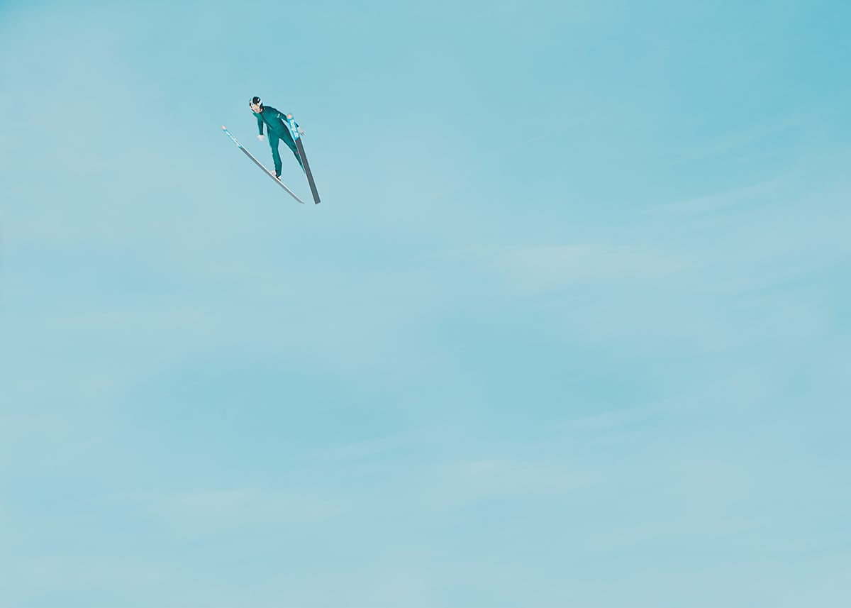 Ski Hopp by Gem Fletcher & David Ryle – England