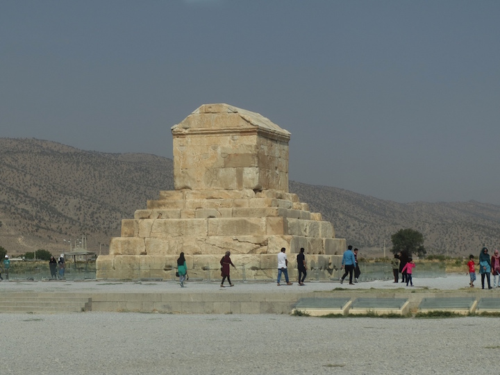 Tomb of Cyrus King of Achaemenid 300 BC-Pasargad copy.jpeg