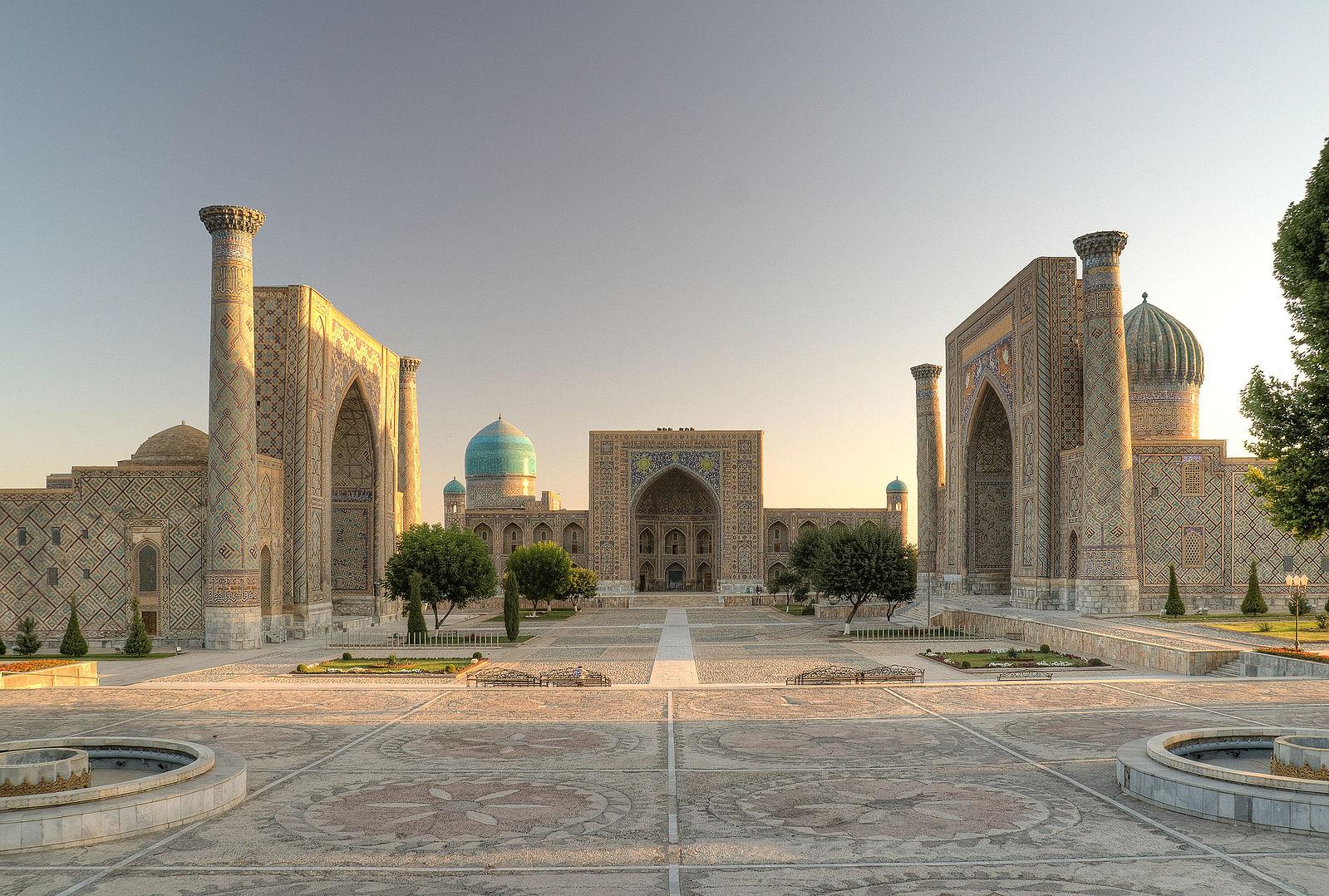 1599px-Registan_square_SamarkandEkrem CanliWiki.jpg