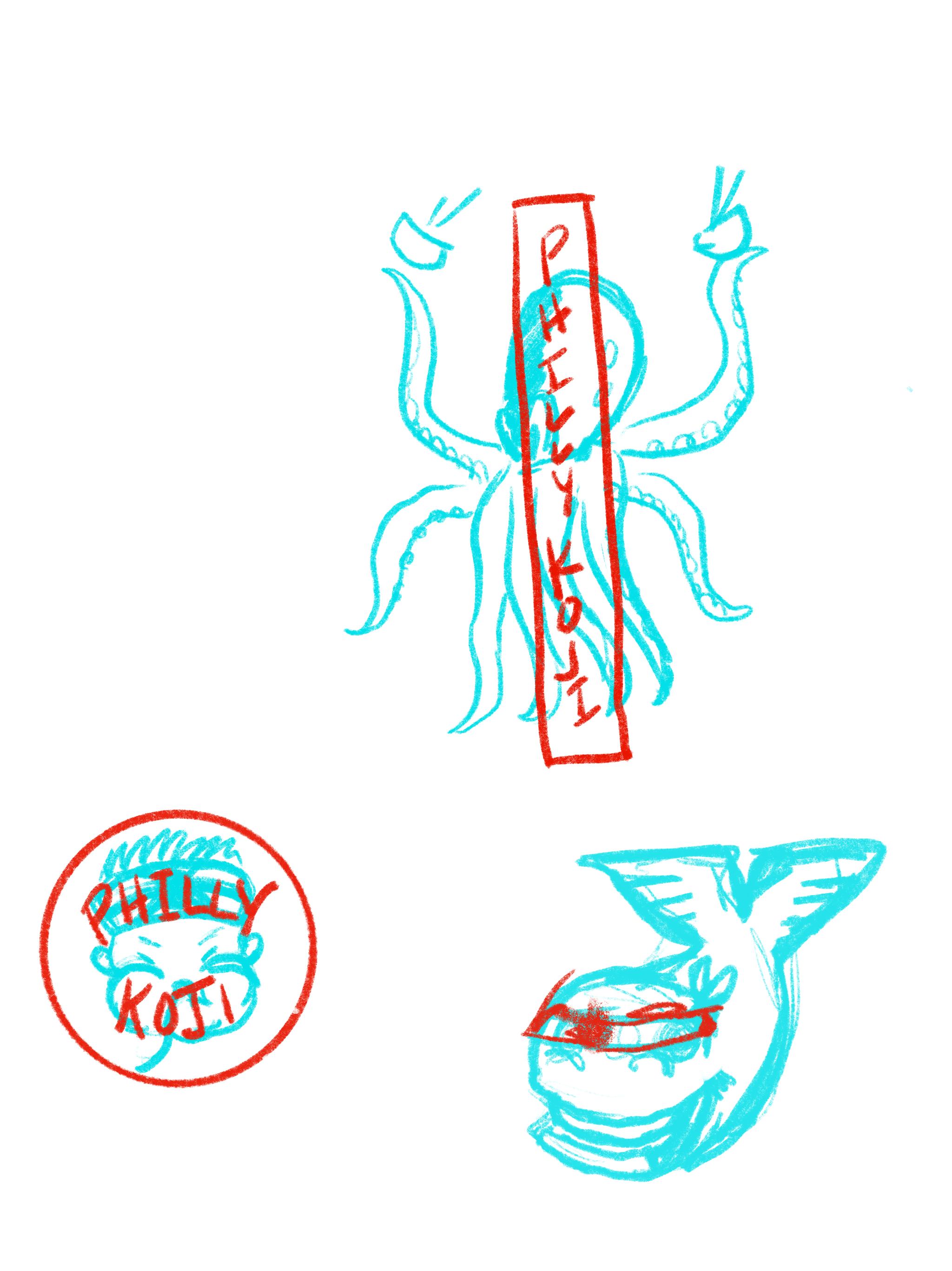 Fig. 5 - Character Explorations