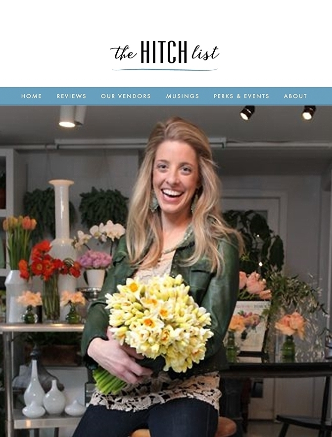 Table & Tulip's Owner Andrea Halliday Shares Her Secrets To Floral Design, Using Pinterest, Throwing an Off-Season Wedding, and Letting Go of The Peony, THE HITCH LIST