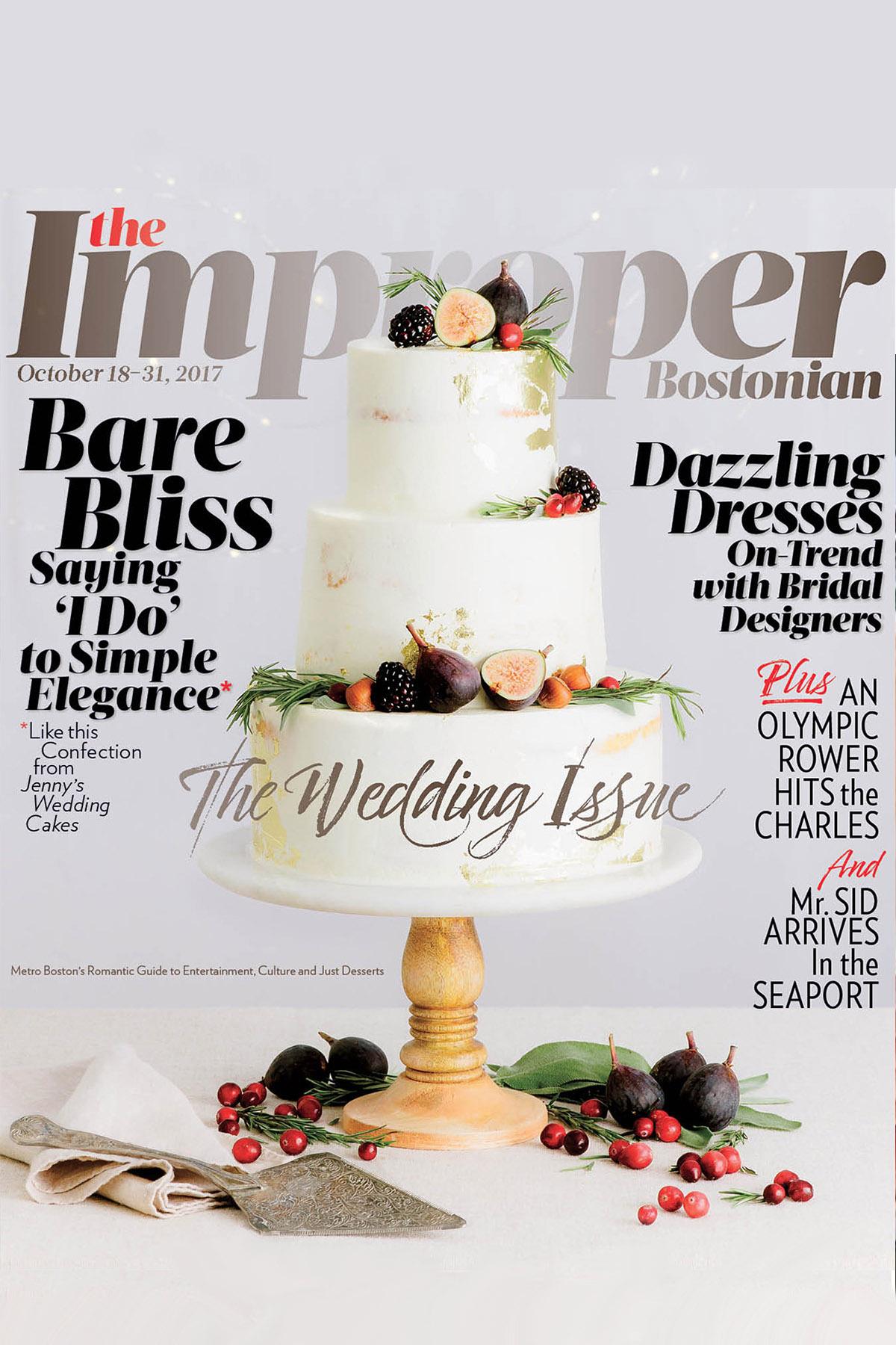 The Improper Bostonian: The Wedding Issue