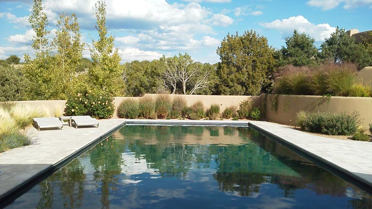 Santa Fe area swimming pool maintenance.