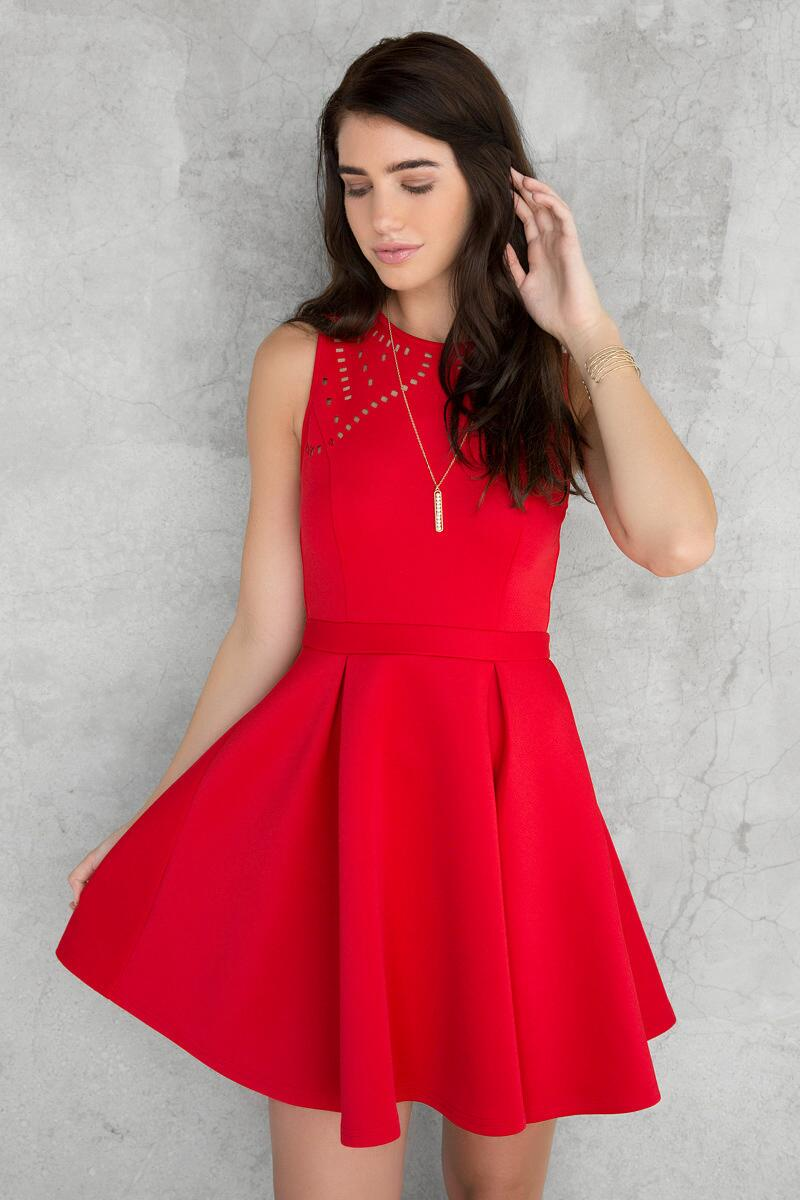 Red Cute our Francescas Dress Holiday Red Dress