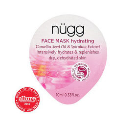 nugg face mask review hydrating exfoliate acne scar