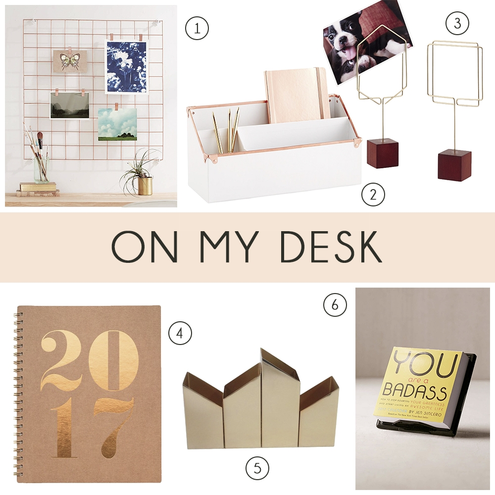 desk inspiration office supplies