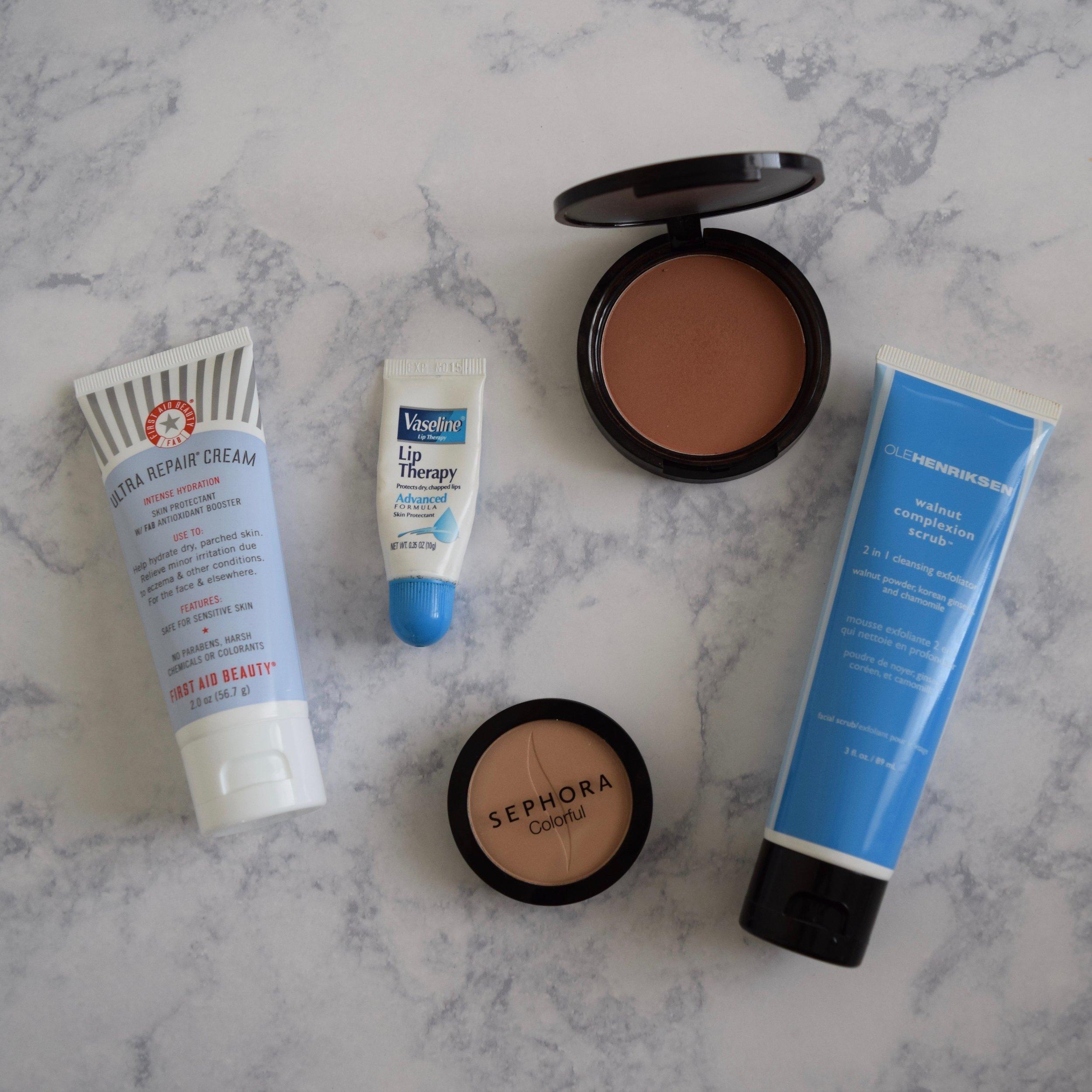 Skin care for the winter dry skin bronzed look