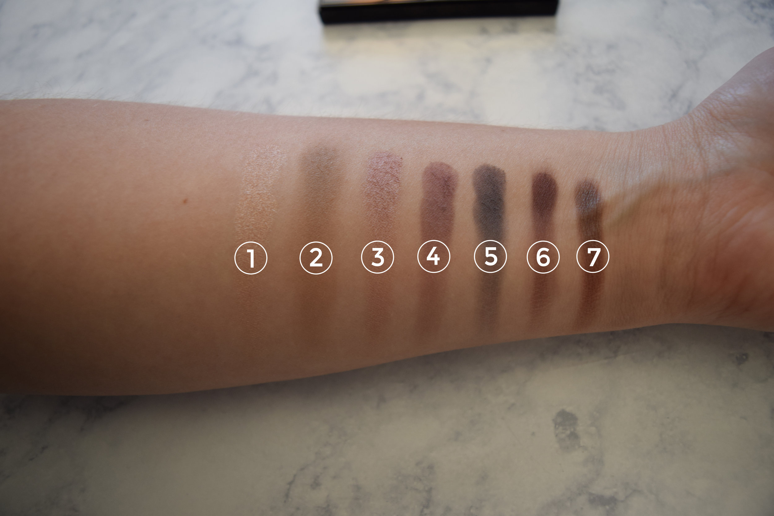 NYX Cool Neutrals Palette Review Swatch