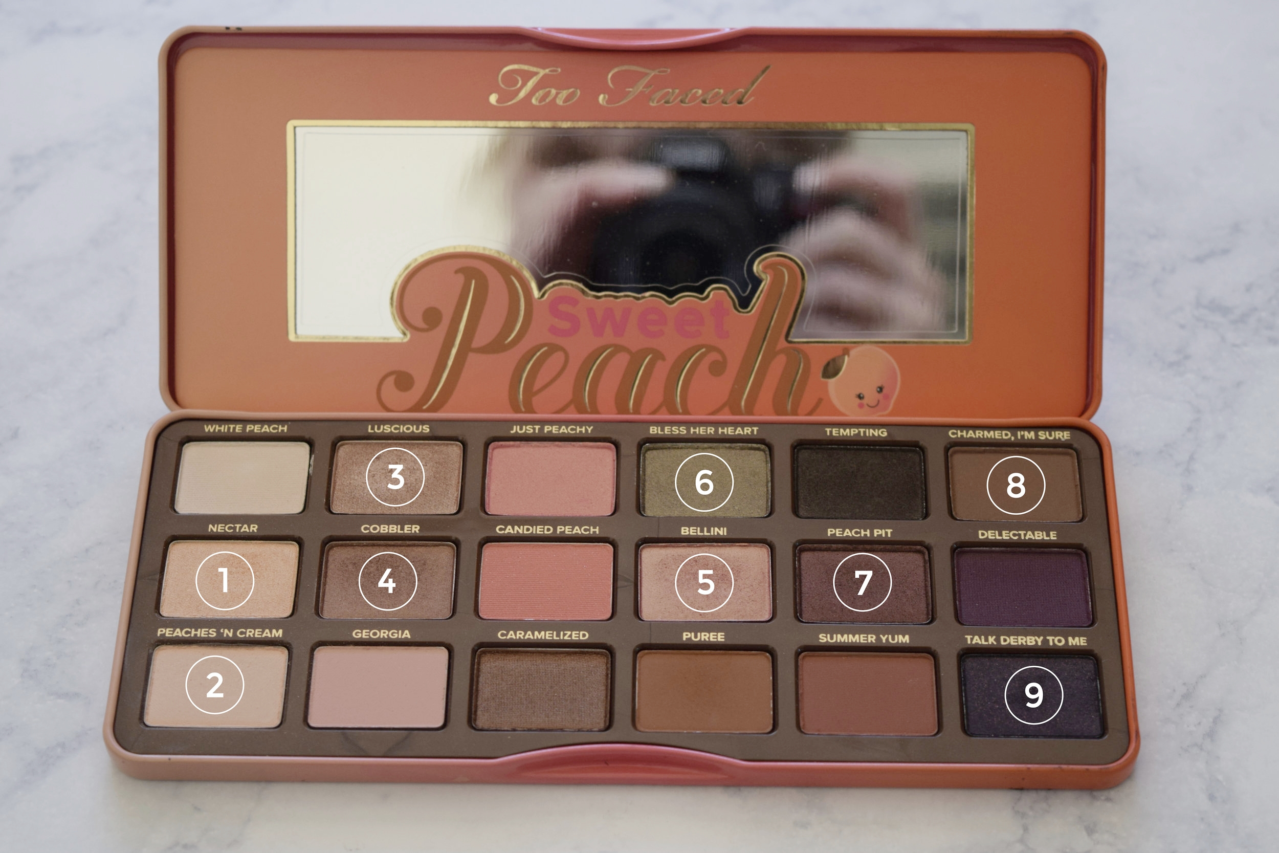 Sweet Peach Too Faced Palette Review