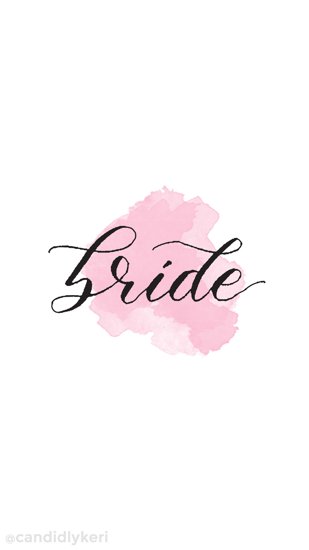Bridal wallpaper pink watercolor free download mobile desktop computer