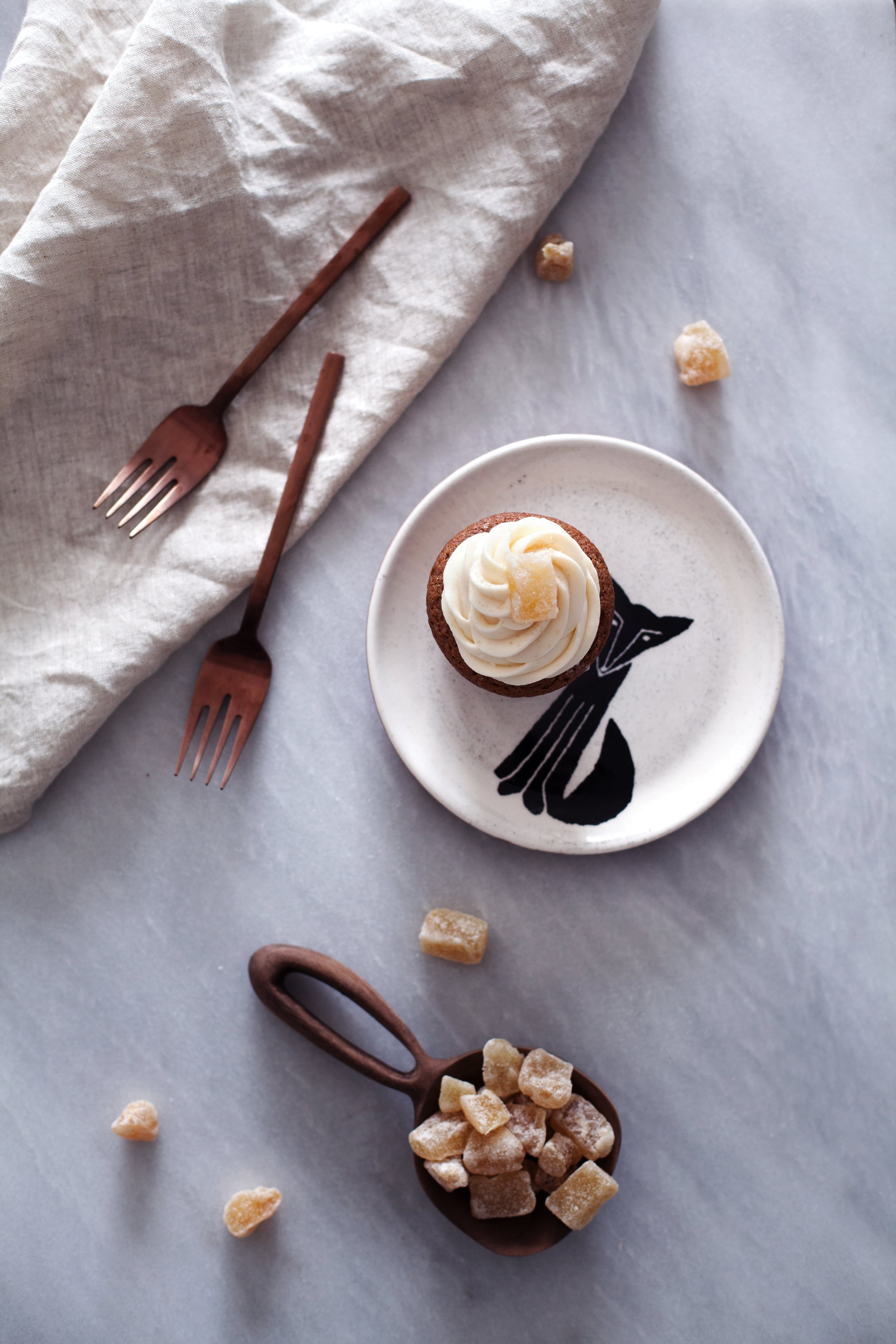 candied ginger cupcakes ii.jpg