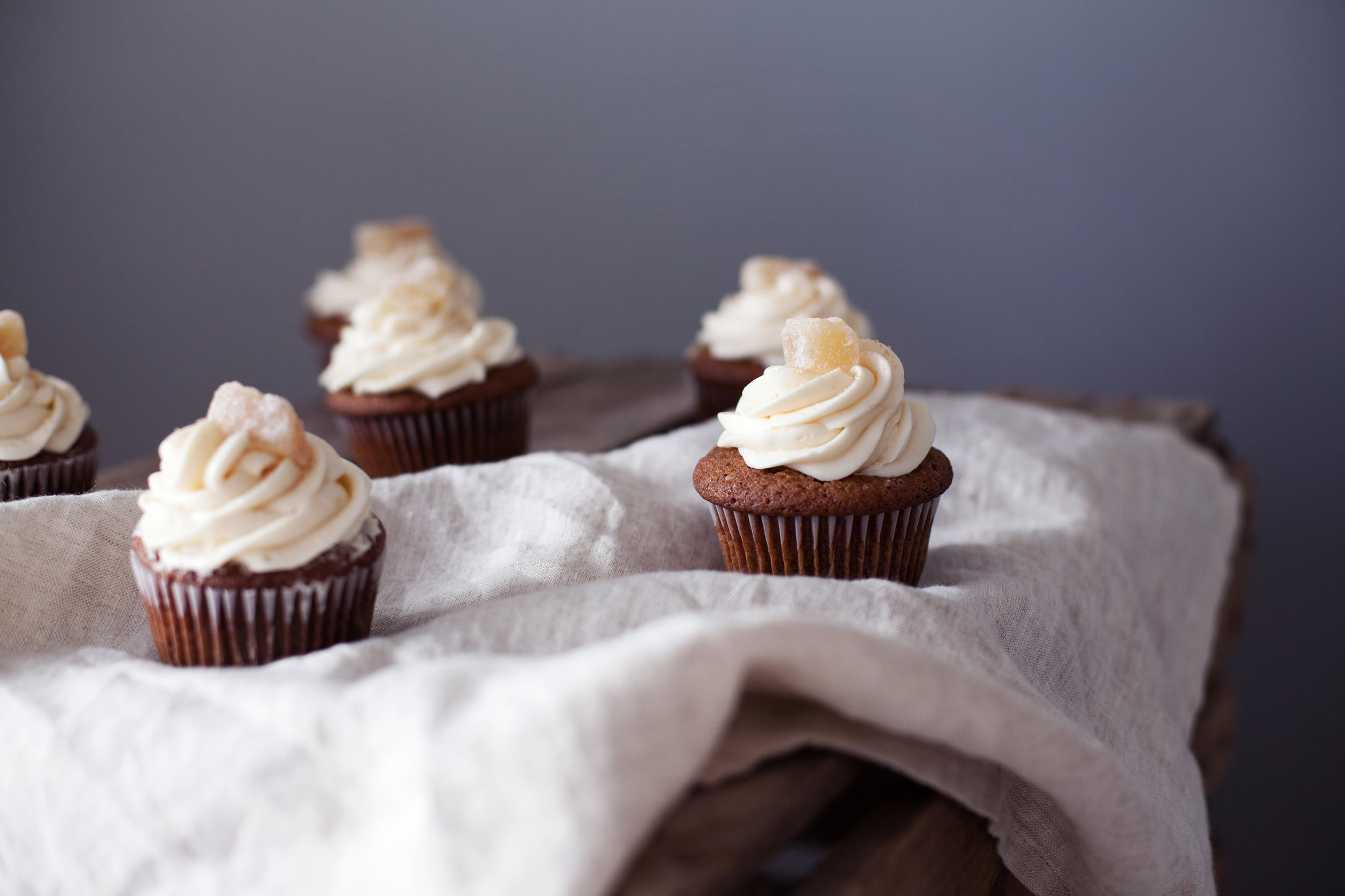 candied ginger cupcakes vi.jpg