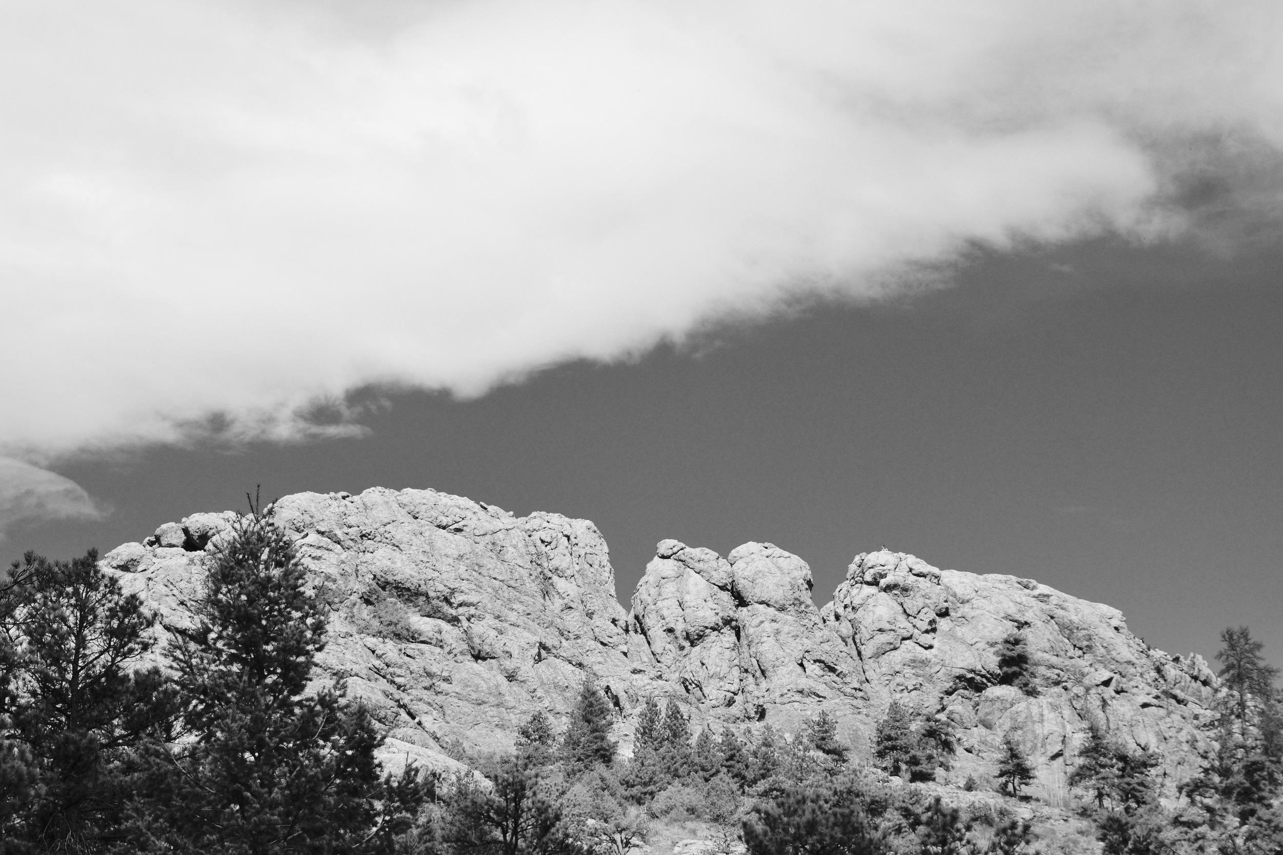 The Heart of a Giant (aka Horsetooth Rock)