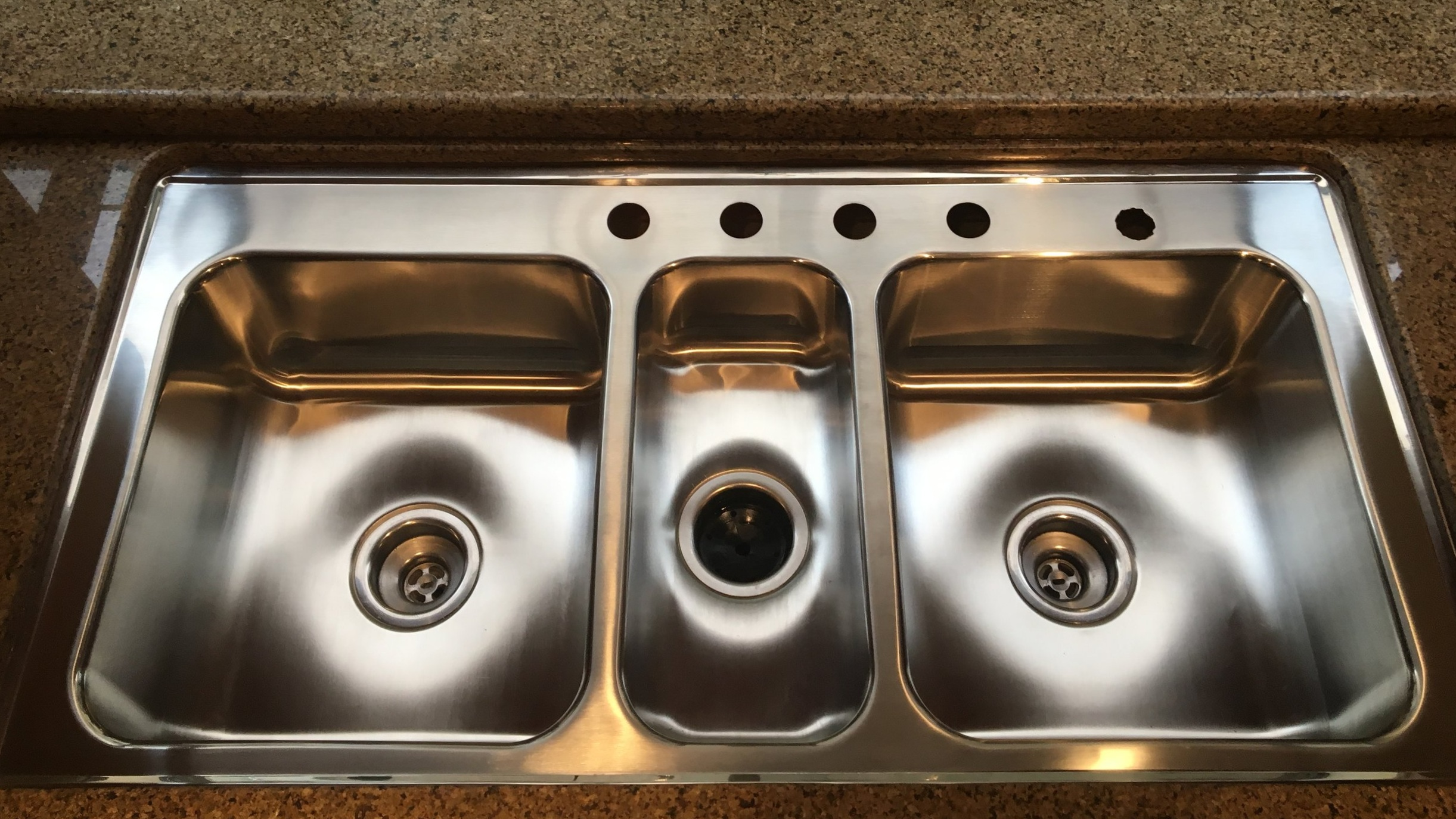 Sink Scratches After Restoration