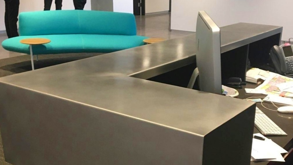 Custom Stainless Steel Refinishing by ScratchOff - ScratchOff's custom refinishing service brings a modern look to office buildings and custom homes. We transform damaged stainless steel to a pristine and contemporary finish.