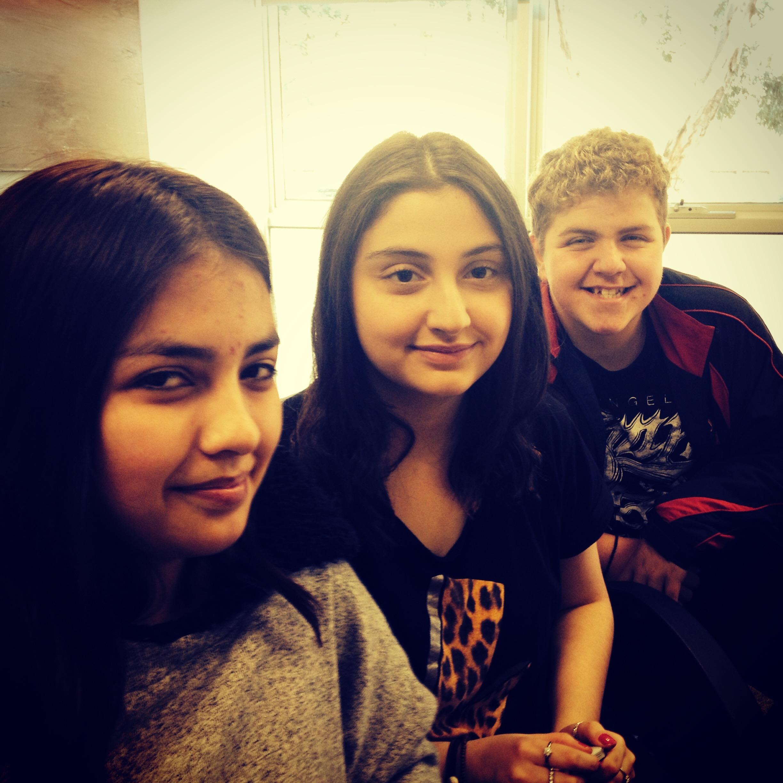 Thalia, Sumeyra & Jamie
