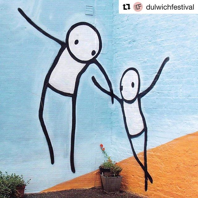 Sweet #streetart in #dulwich #london courtesy of @dulwichfestival and @dulwichgallery ・・・ WALK: Street Art Walk Meet at Vale End, SE22, opposite East Dulwich Station Saturday 13 May 2017 2pm Sunday 14 May 2017 2pm Ticket: £9, concessions £7 Over twenty of the world's leading street artists were invited to Dulwich Picture Gallery by Ingrid Beazley, to study the Baroque paintings and reinterpret them in their own style around Dulwich creating the Dulwich Outdoor Gallery. See some of these works and the paintings that inspired them with a 2 hour guided street art walk with Amanda Greatorex ending with a visit to Dulwich Picture Gallery. #DulwichFestival #DulwichOutdoorGallery #StreetArt #StreetArtLondon @dulwichgallery