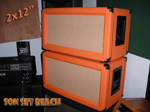 "Son Set Beach SSB9 Original Custom 9x19"" Un-Loaded Speaker Cab"