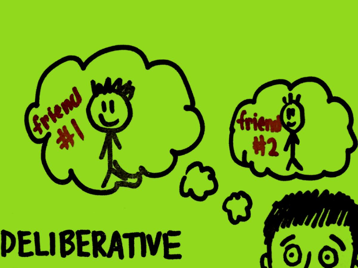 Deliberative StrengthsFinder Singapore Deliberation Between Friends