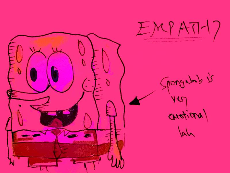 Empathy StrengthsFinder Singapore Spongebob Emotional