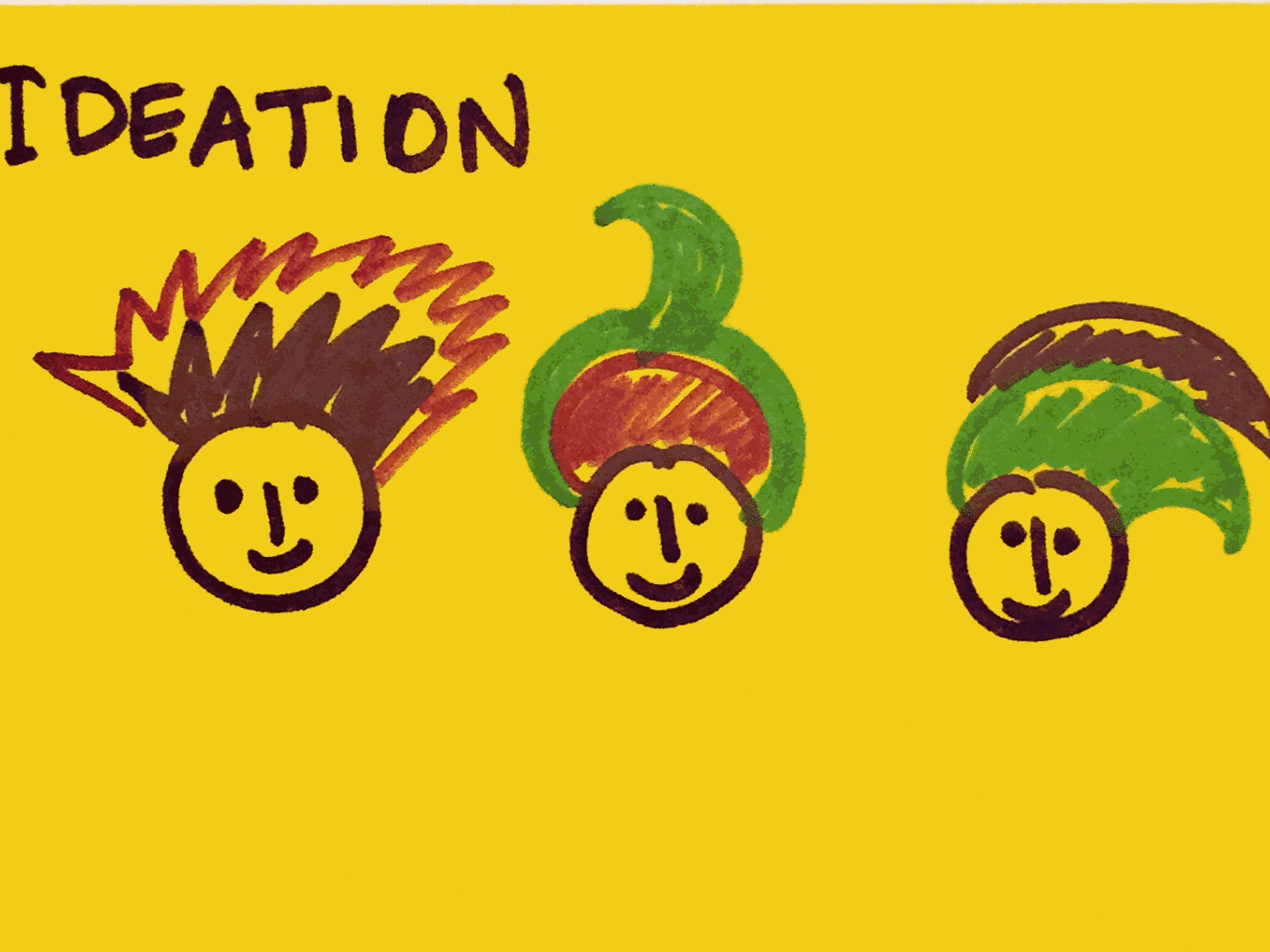 Ideation StrengthsFinder Singapore Creative Funky Hairstyles