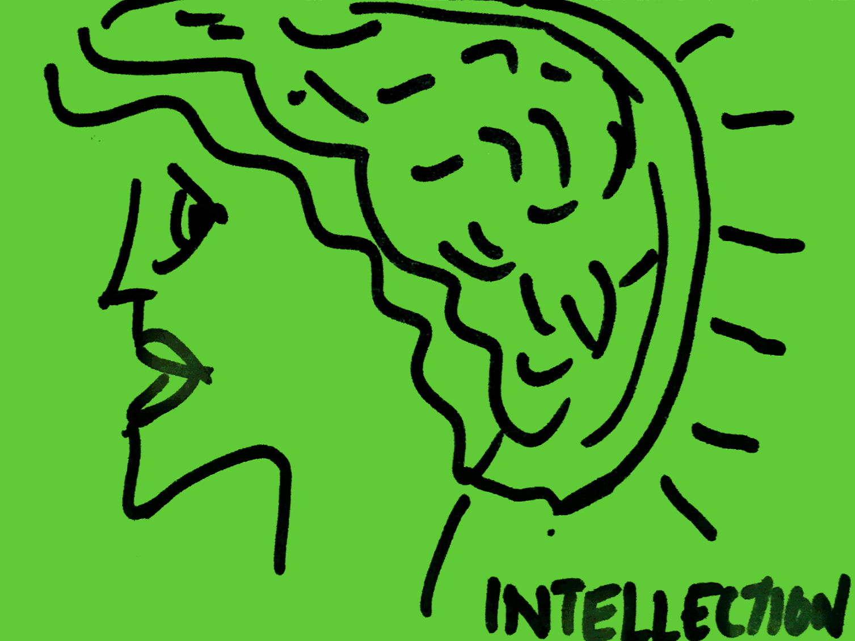 Intellection StrengthsFinder Singapore Woman Thinking Brain