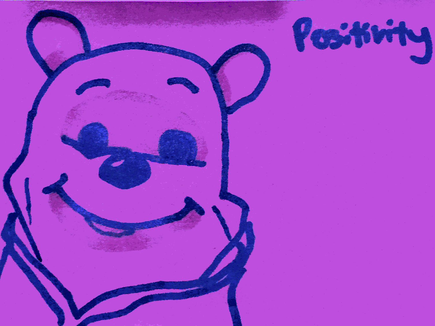 Positivity StrengthsFinder Singapore Happy Pooh Bear