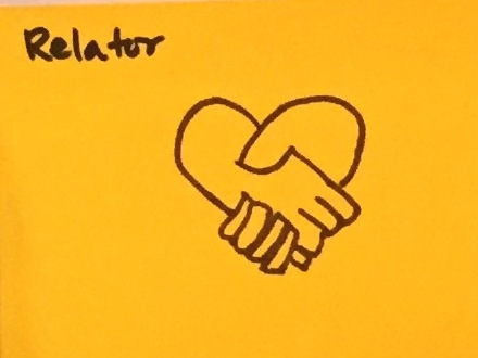 Relator StrengthsFinder Singapore Hands Heart