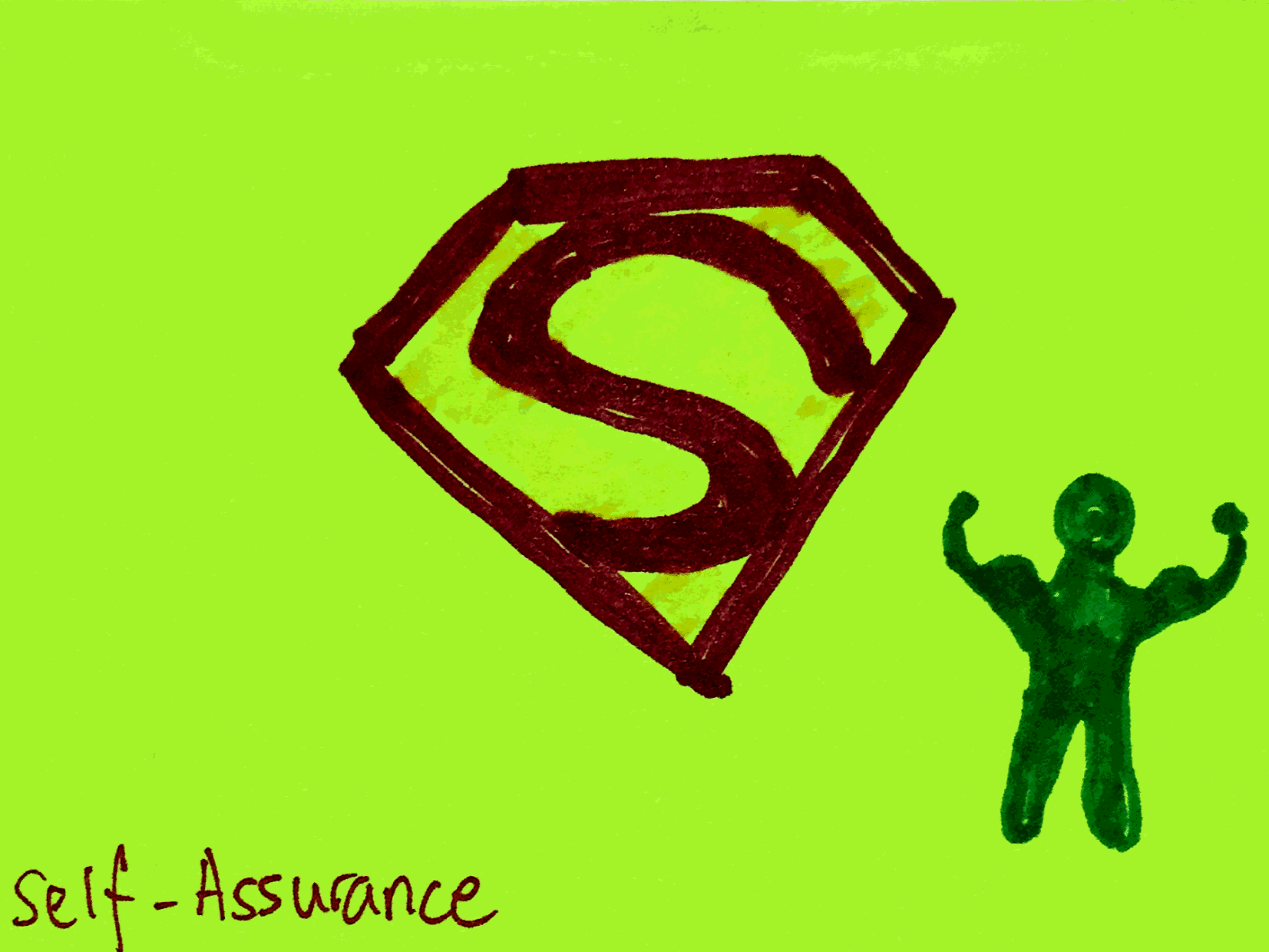 Self-Assurance StrengthsFinder Singapore Confident Man Flexing Superman