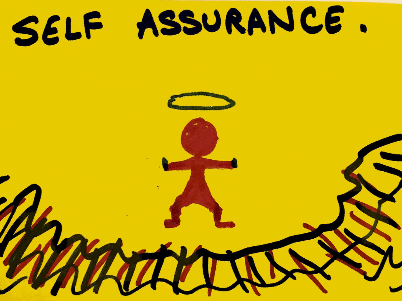 Self-Assurance StrengthsFinder Singapore Man Halo Moving Forces