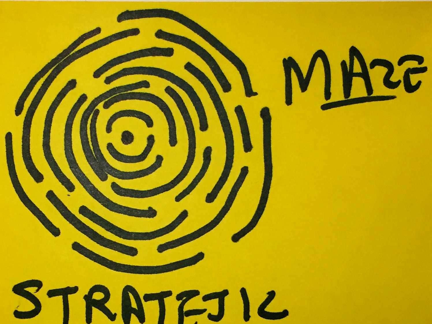 Strategic StrengthsFinder Singapore Maze Thumbprint