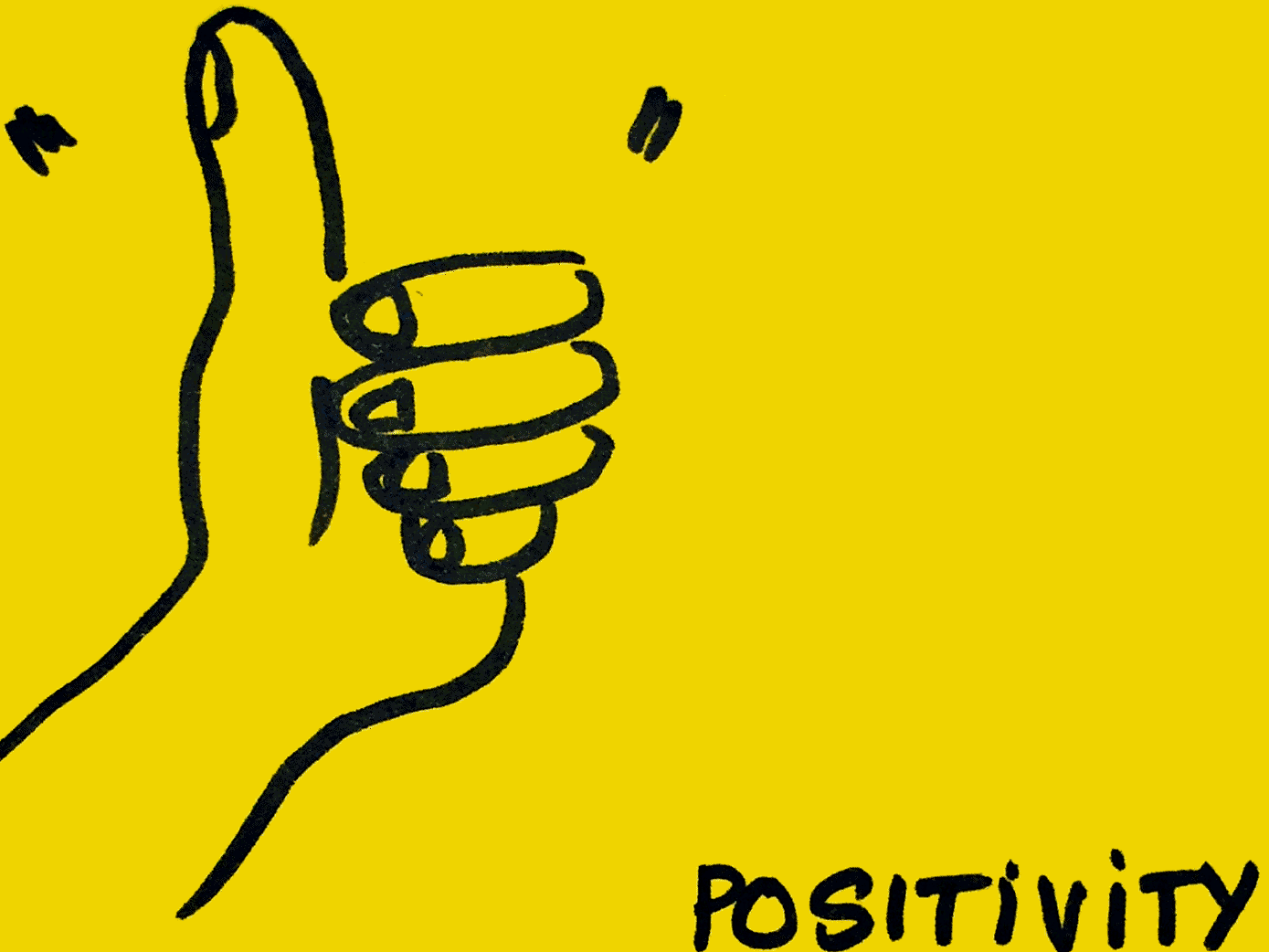 Positivity StrengthsFinder Singapore Thumbs Up