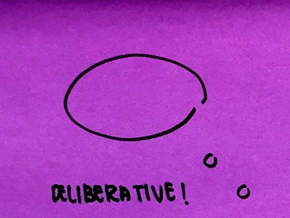 Deliberative StrengthsFinder Singapore Thought Bubble
