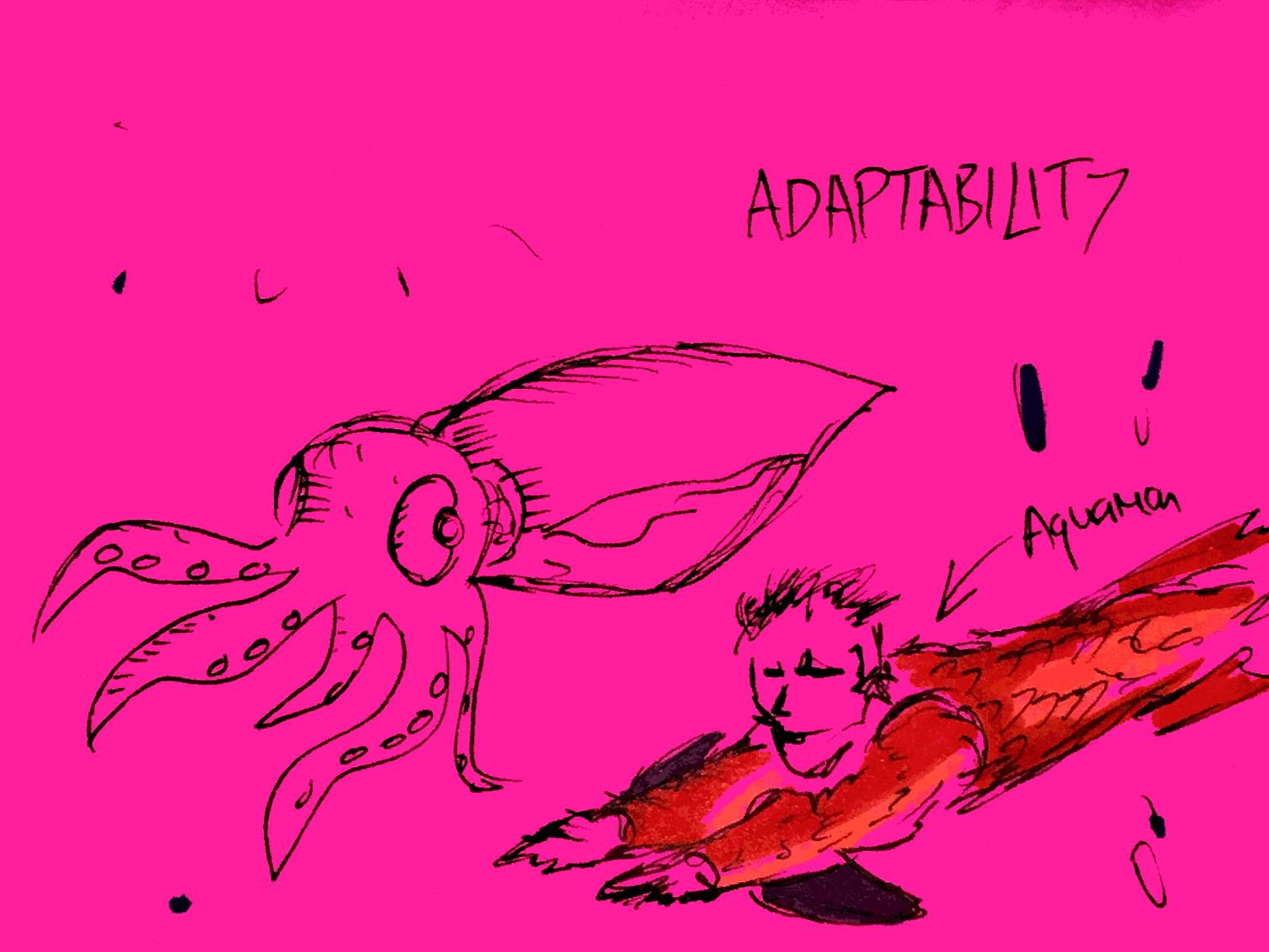 Adaptability StrengthsFinder Singapore Aquaman Squid