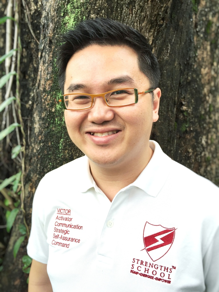 Victor Seet StrengthsFinder Coach of Strengths School StrengthsFinder Singapore