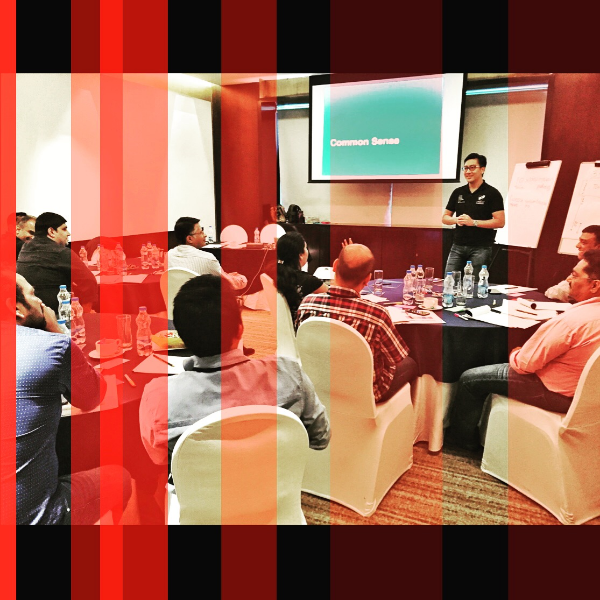 Conducted a StrengthsFinder workshop in India and had an awesome time with the participants of an MNC