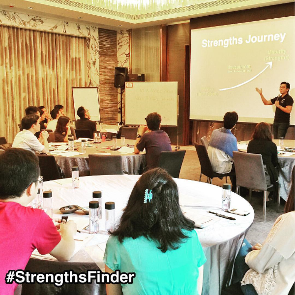 Day 2: StrengthsFinder Workshop in HongKong. Back to Singapore tonight.