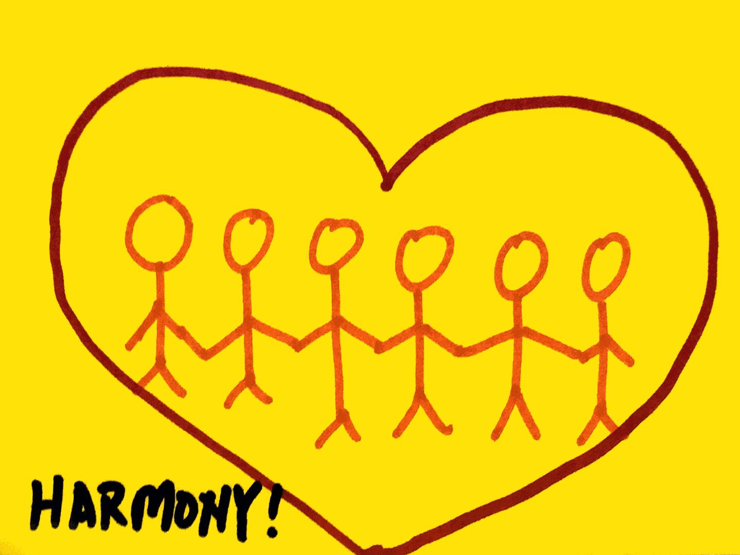 Harmony StrengthsFinder Singapore People Heart