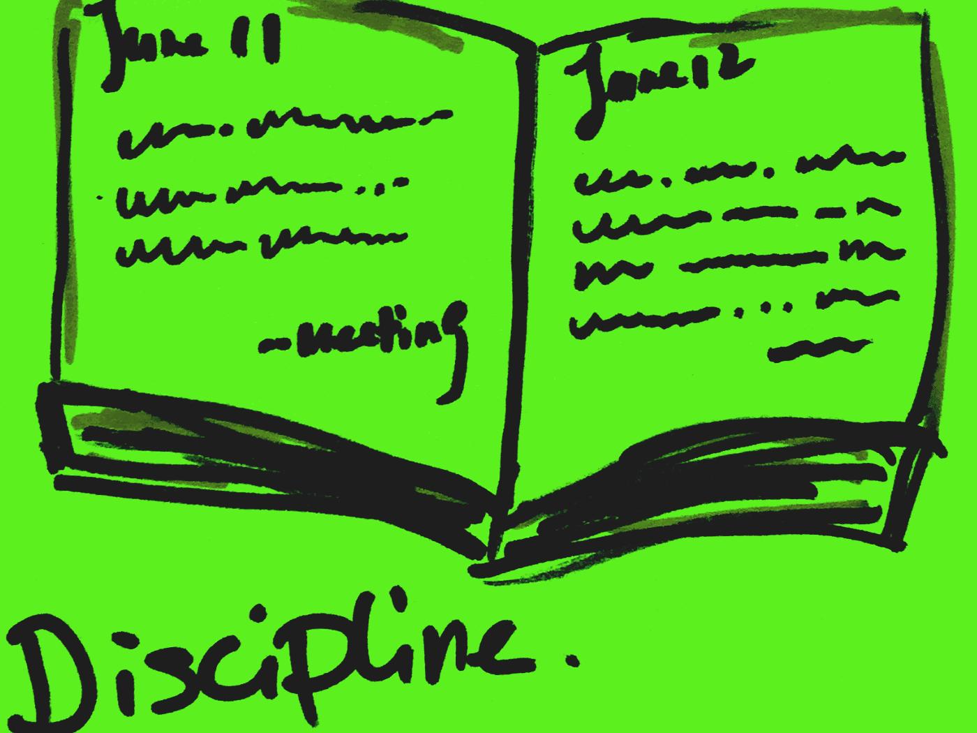 Discipline StrengthsFinder Singapore Daily Journal