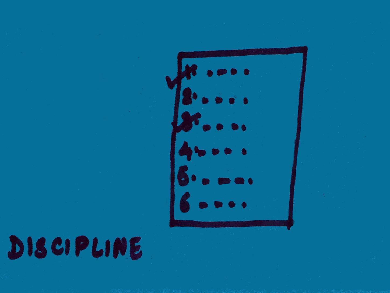 Discipline StrengthsFinder Singapore To Do List