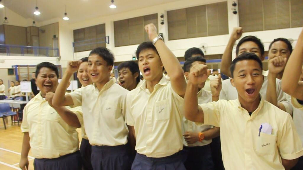 Strengthsfinder Singapore Strengths School Game of Life Cheering
