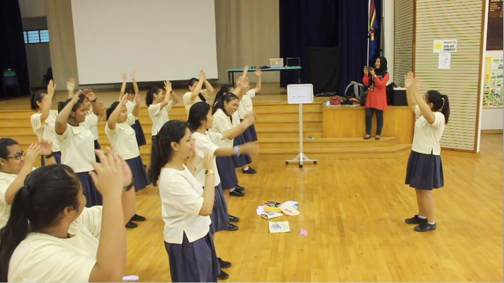 Strengthsfinder Singapore Strengths School Game of Life Teamwork exercise