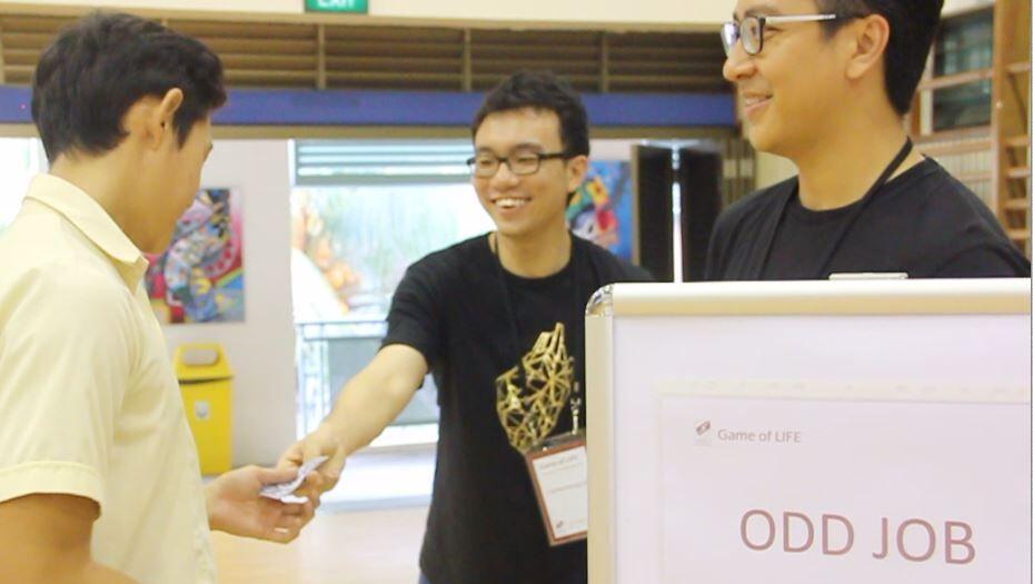 Strengthsfinder Singapore Strengths School Game of Life Odd Job