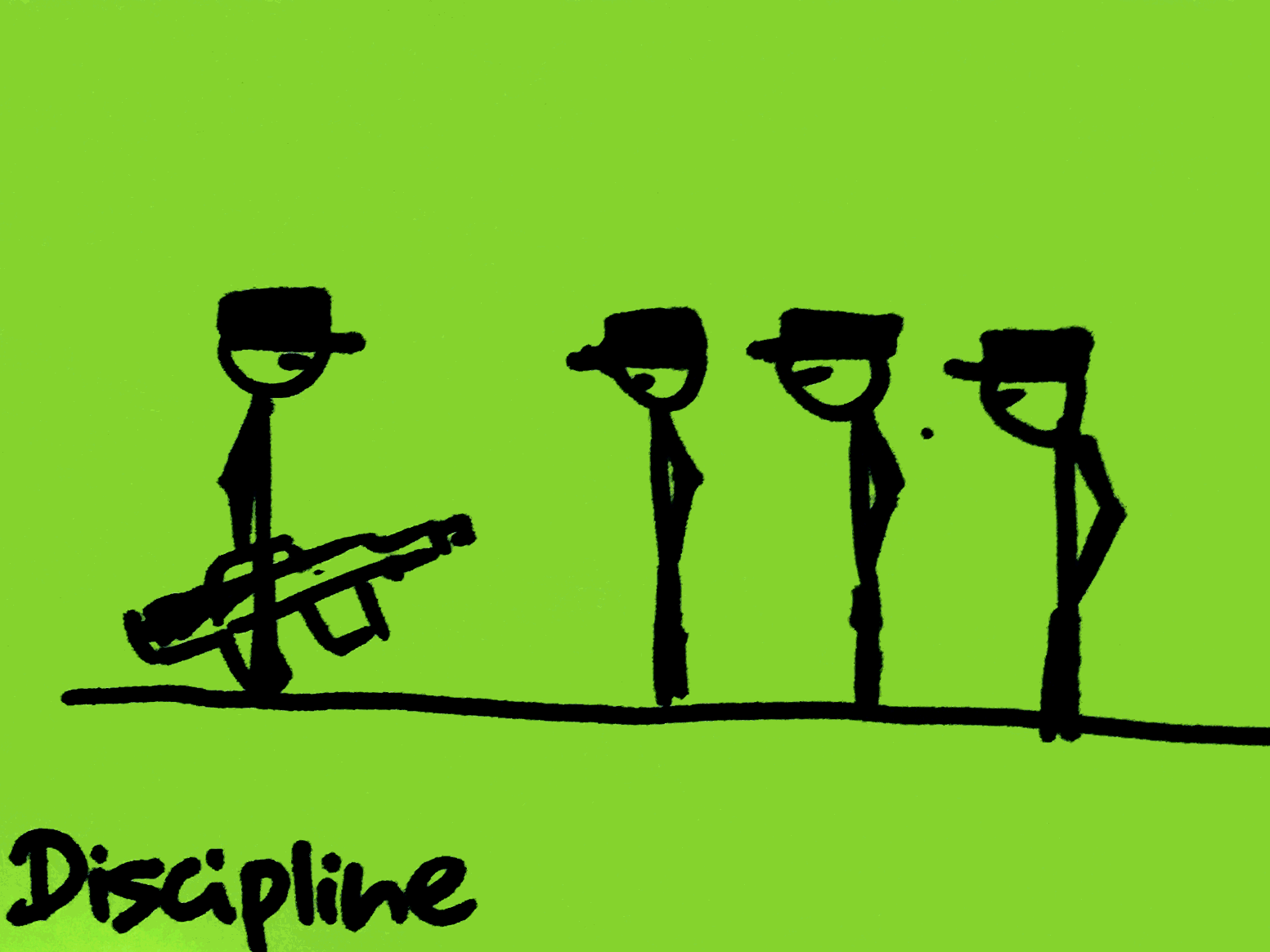 Discipline Strengthsfinder Singapore Soldiers Army Conduct